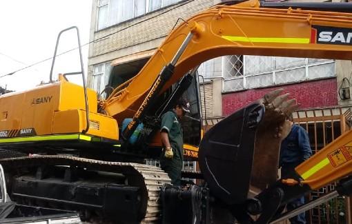 equipos en alquiler demoliciones