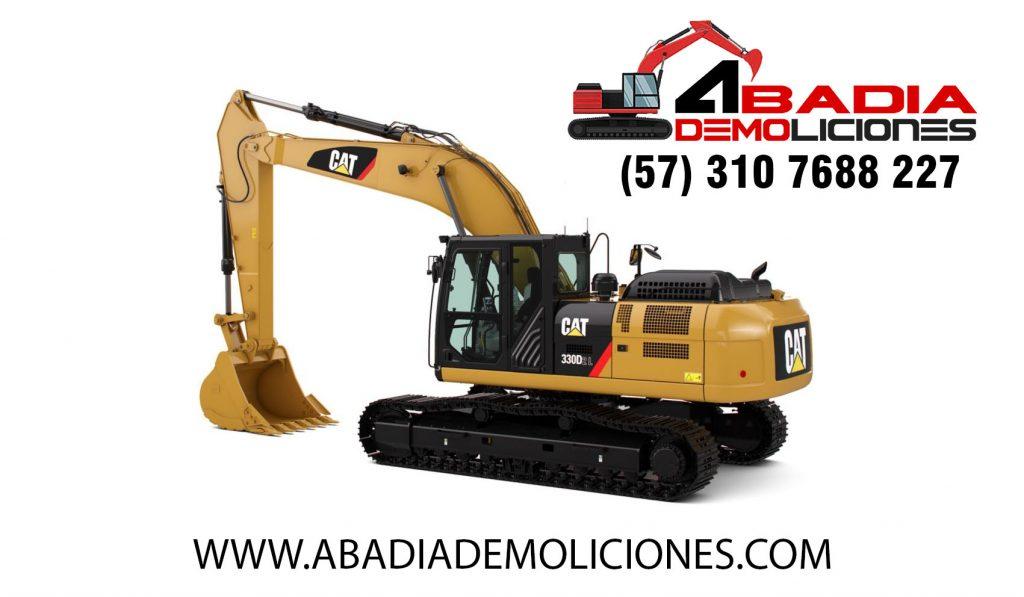 Demolición Casas, Edificios, Bodegas, Alquiler Maquinaria, Demoliciones En Bogotá Y A Nivel Nacional. Excavaciones, Remoción De Escombros:. Abadia Demoliciones