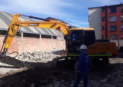 Demolicion y ampliacion de Fabrica
